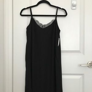 Slip Dress - NEW with tags - Black